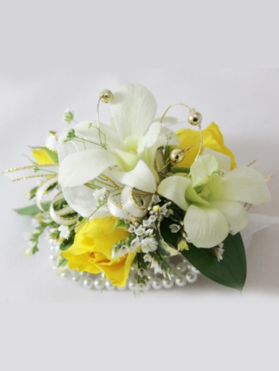 Yellow-Roses-and-Singapore-Orchid-Wrist-Corsage-image1
