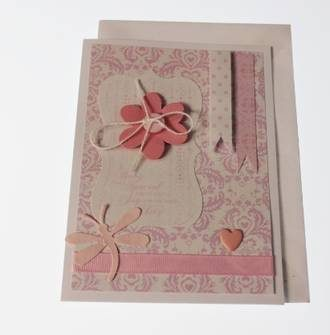 Hand Made Gift Card