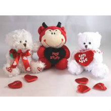 Three valentines bears | Flowers on the Hill Top