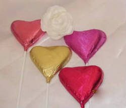 Heart Shaped Chocolates on a Stick(copy).1