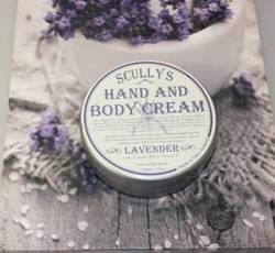 Scullys Hand  and Body Cream