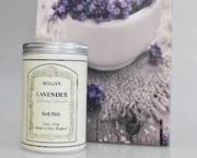lavender bath salts | Flowers on the Hill Top