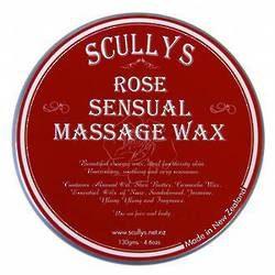 Sensual Rose massage wax
