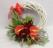 Christmas Wreath New Zealand Style