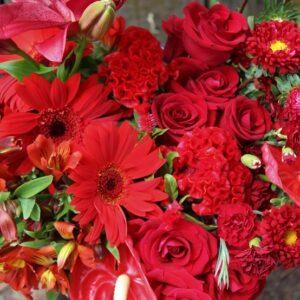 Florist Choice Romantic Reds